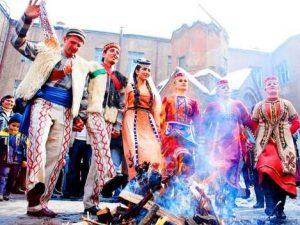 """Tyarnendaraj"" – a Holiday Symbolized With a Blazing Fire"